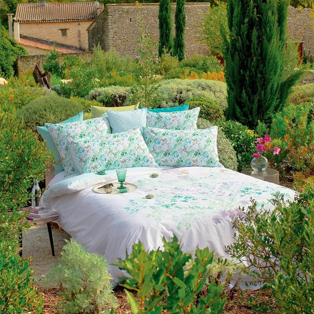 Garnier Thiebaut  Bettwäsche - Garnier Thiebaut - Jardin Vagabond-BIO Baumwolle bedruckt-Percale