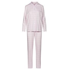 Féraud - Rösch FÉRAUD Paris High Class Damen Pyjama Karo Design Interlock Druck new rose