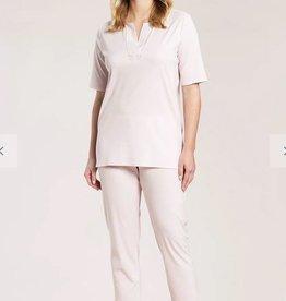 Féraud - Rösch Féraud Damen Sommer Pyjama KurzarmTunika Schnitt mit 7/8 Hose-Fb.New Rose