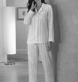 Novila Damen Schlafanzug Gr.38  Celine 1/1  blau - Sonderpreis