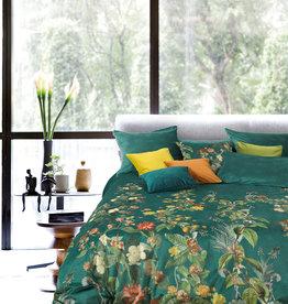 Garnier Thiebaut Bettwäsche Samt bügelfrei - Garnier Thiebaut -  Ete-Indien vert canard