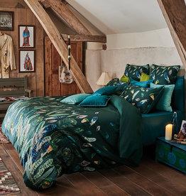 Garnier Thiebaut Bettwäsche - Garnier Thiebaut- Feathers Green- Satinbettwäsche bedruckt