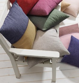 Eagle Produkts Kissenbezug 50x50 cm Contrast Lammwolle-2-farbig