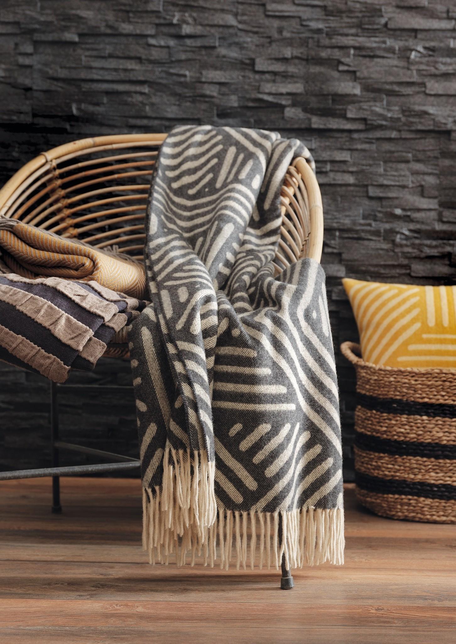 Eagle Produkts   Maori Plaid 145x205 cm feinste Lammwolle-3 Farben