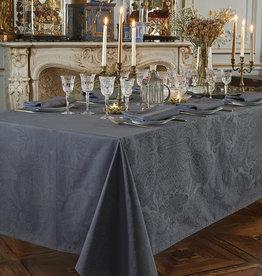 Garnier Thiebaut GT Tischdecke Damast Mille Isaphire zinc