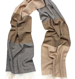 Eagle Produkts Eagle Products Schal Kaschmir 3-farbig beige-grau-natur