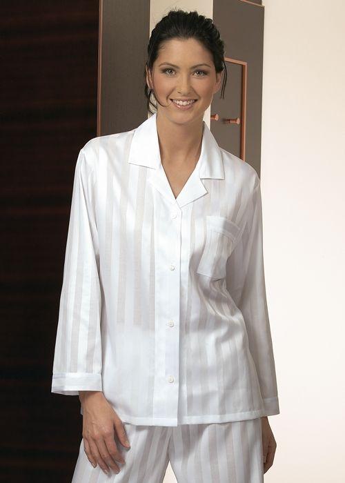 8b51ca307b Novila - Damen Pyjama-Schlafanzug Damen Satin-Textile Träume ...