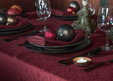 Weihnachtliche Tischwäsche