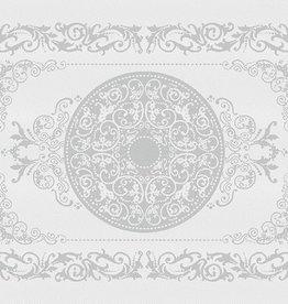 Garnier Thiebaut GT Tischsets (4-er Set) 54x39 cm Comtesse blanc