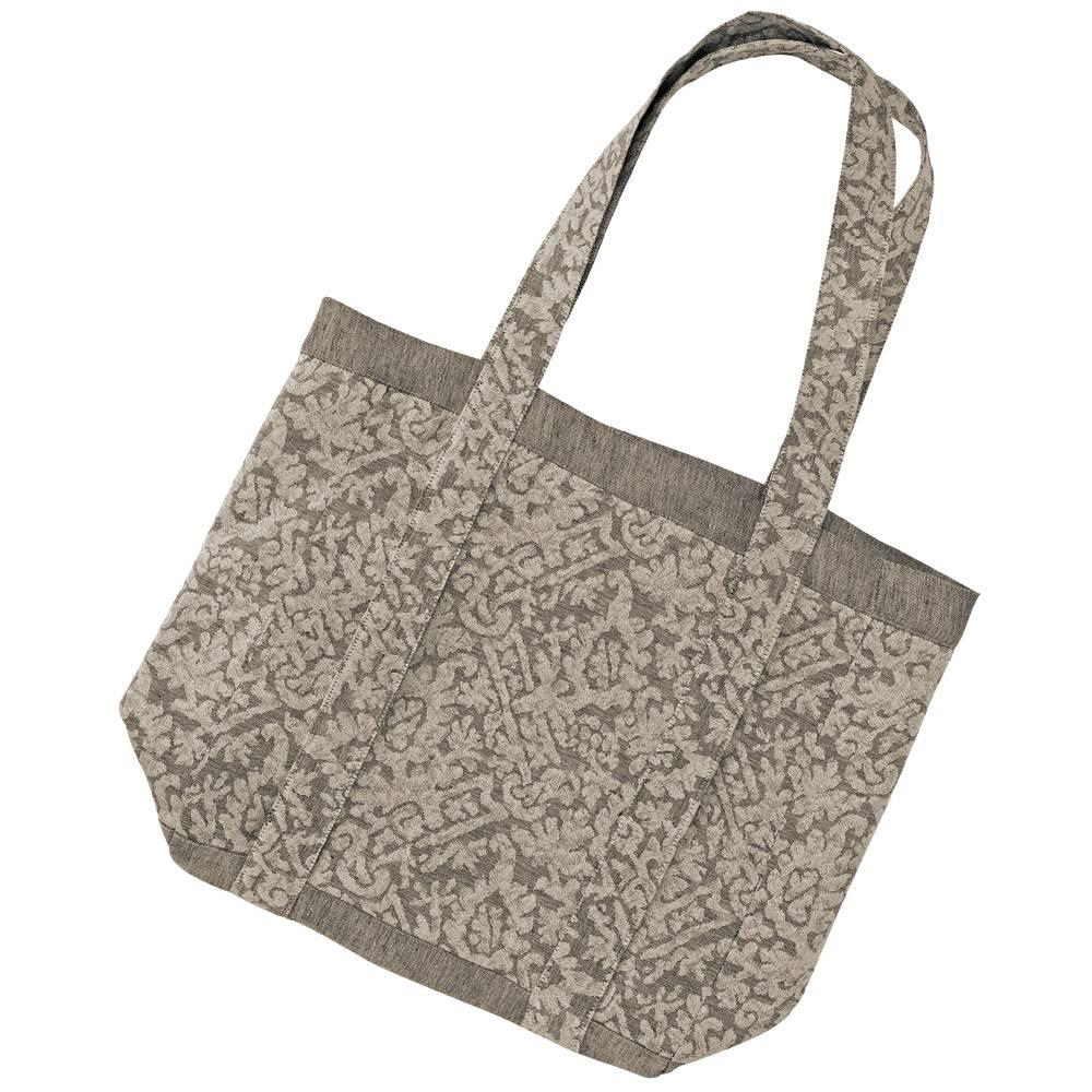 ad2118ff5cea6 Leitner Bag - schöne Tasche aus Leitner Leinen Des.220-89 anthrazit