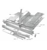 Closing panel Stainless steel Nr Org: DM74398