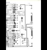 Cableria delantera (bateria derecha / altenador) pallas 68 Nr Org: DX51128G