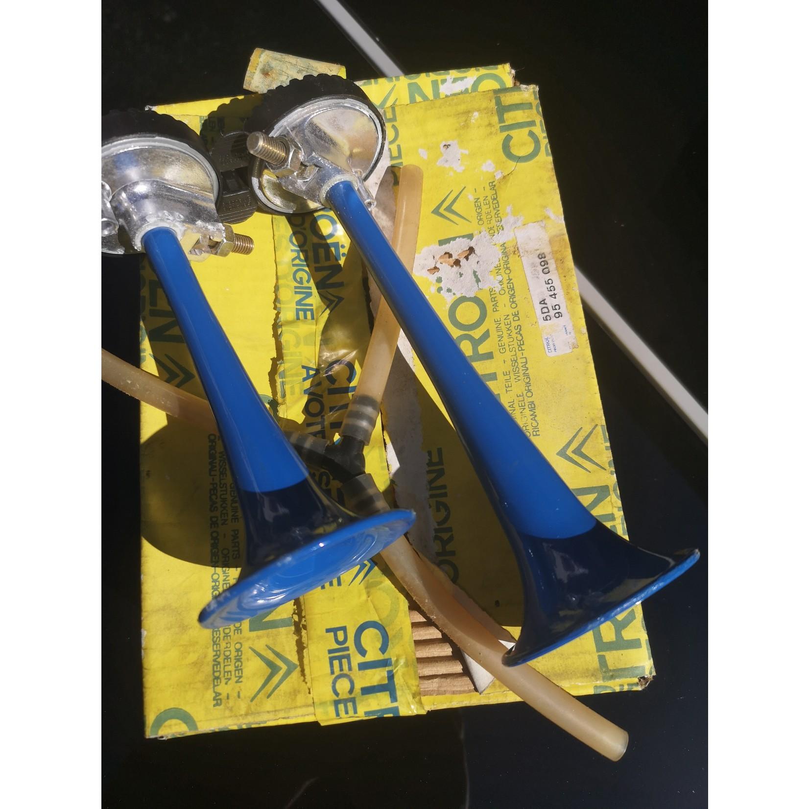Trompettes de claxon DS / ID / SM d'origine Nr Org: 95455098
