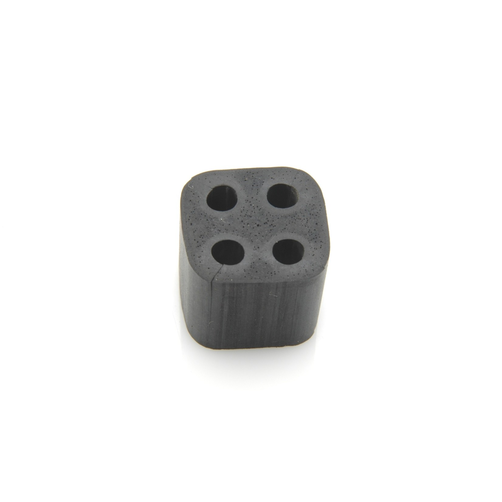 Montagerubber leidingbundel vierkant 4 x 4,5mm