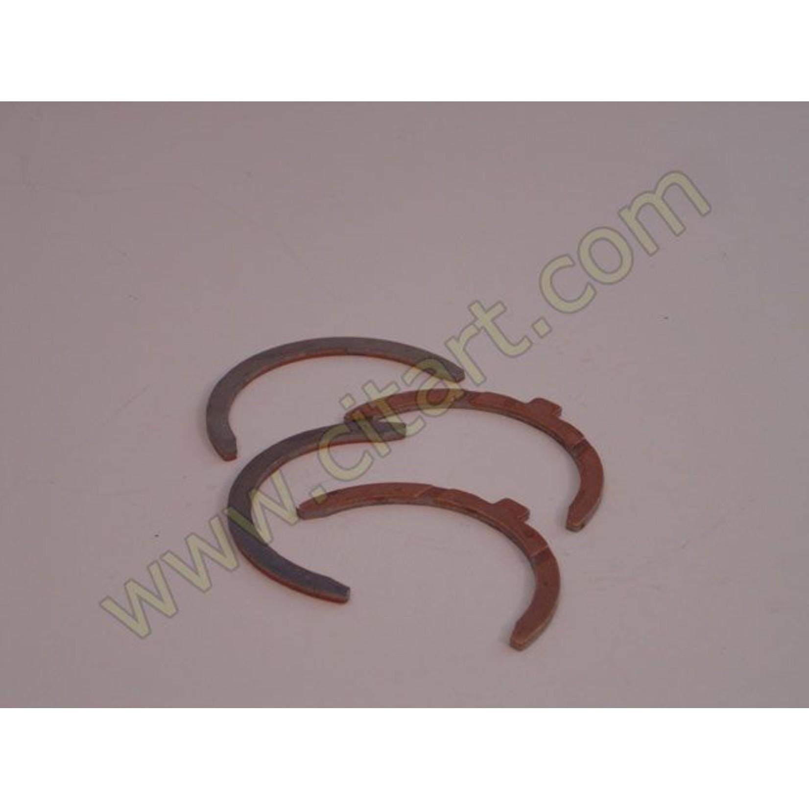 Half bearings crankshaft 66- Standard 3,12 5 paliers Nr Org: 5454678