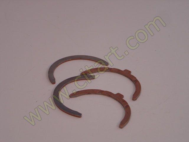 Half bearings crankshaft 66- 3,16 5 paliers
