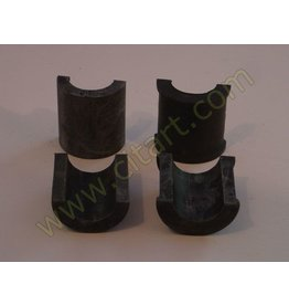 Rubber gear box support -63 - 4 parts