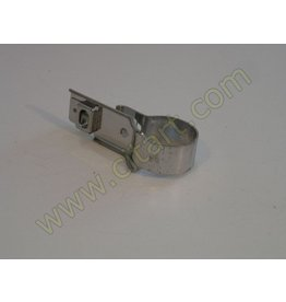 Front exhaust pipe double collar