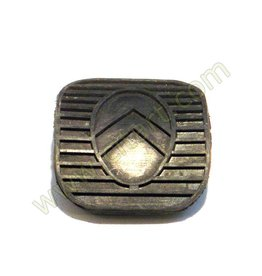 Rubber pad brake-clutch pedal (61 x 65)
