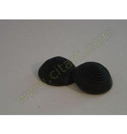 Rubber pad brake pedal round 61-