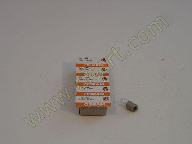 Lamp bajonet 12V - 4W Nr Org: 25907009