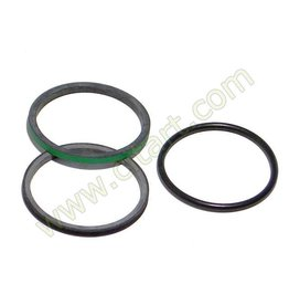 Sealing ring sphere round