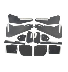 Mud flap kit berline - 8 parts