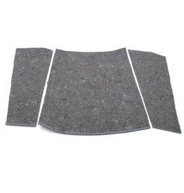 Noise reducing kit bonnet -68 - 3 parts