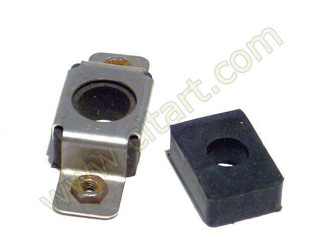 Centring rubber rear wing square Nr Org: DX85122
