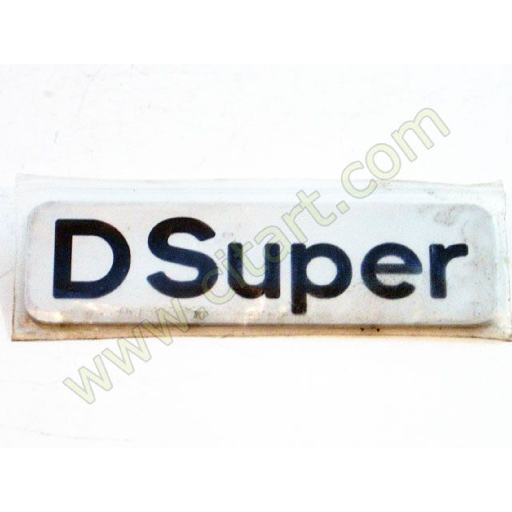 "Monograma ""d super"" adhesivo 72- Nr Org: 5430279"