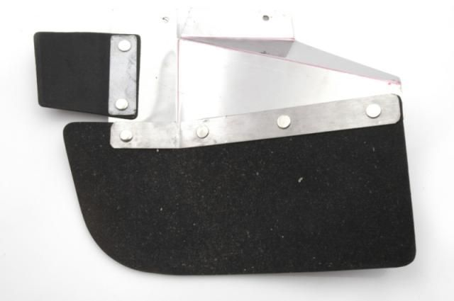 Bavette arrière droit + renfort break Nr Org: DF85148A