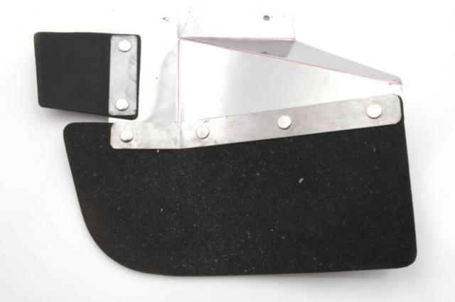 Mud flap + reinforcement rear wing right break Nr Org: DF85148A