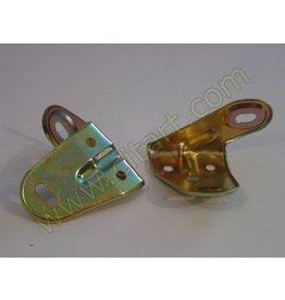 Linker hoek bumper - voorscherm RVS 68-