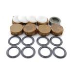 Repair kit transmission (8 bearings nylon caps) 66-