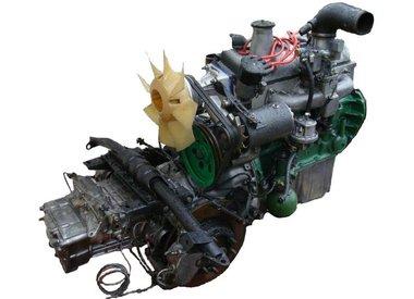 Motor y caja de cambios