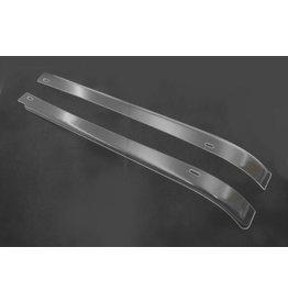 Front door deflectors - 2 parts