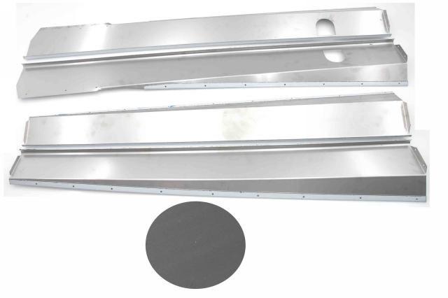 Body panels stainless steel mat Nr Org: DS85362B