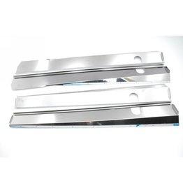 Chapas de caja Inox brillant break / cabriolet - 4 piezas