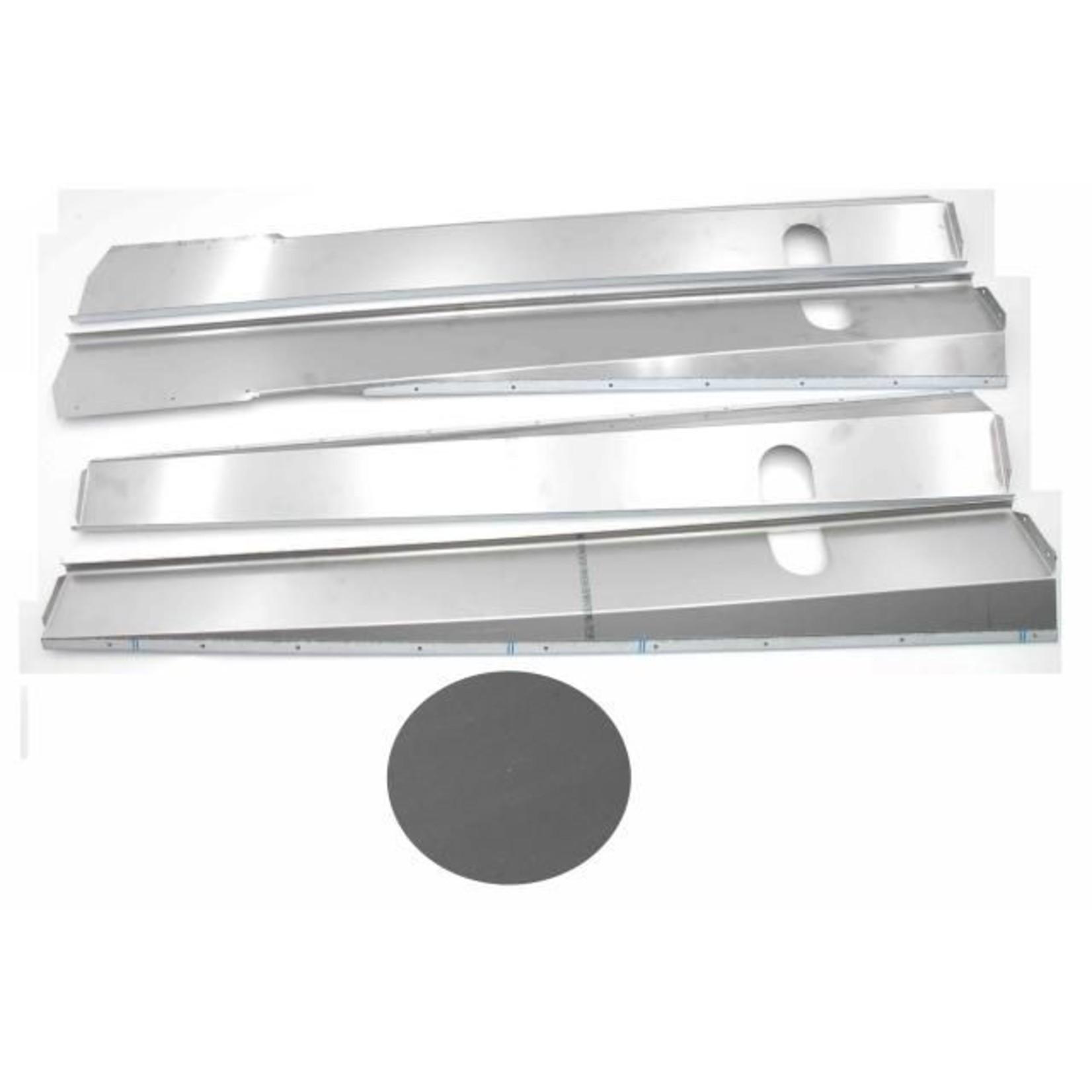 Chapas de caja Inox mat break / cabriolet Nr Org: DS85363D