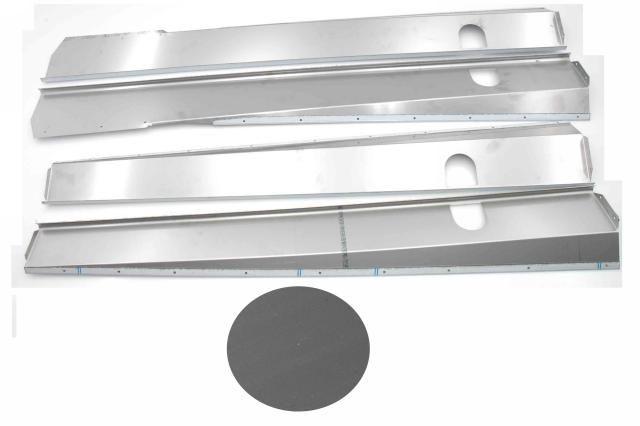 Body panels stainless steel mat break / cabriolet Nr Org: DS85363D