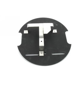 Plate with support spare tyre