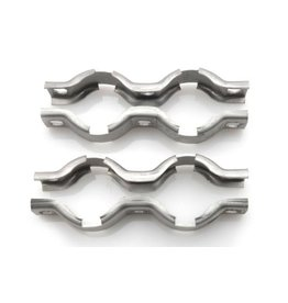 Collars silenciadores trasera SM - 2 piezas