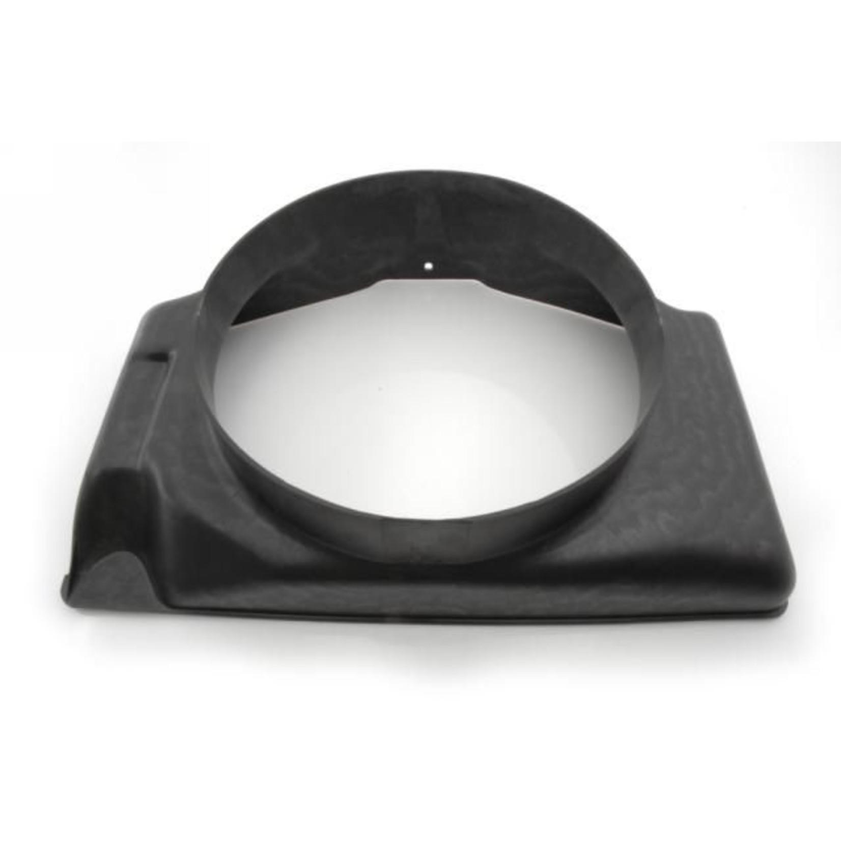 Air cowl ventilation duct radiator plastic