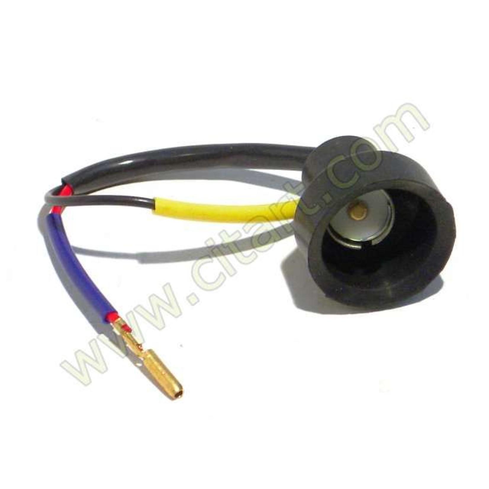 Socket rear indicator
