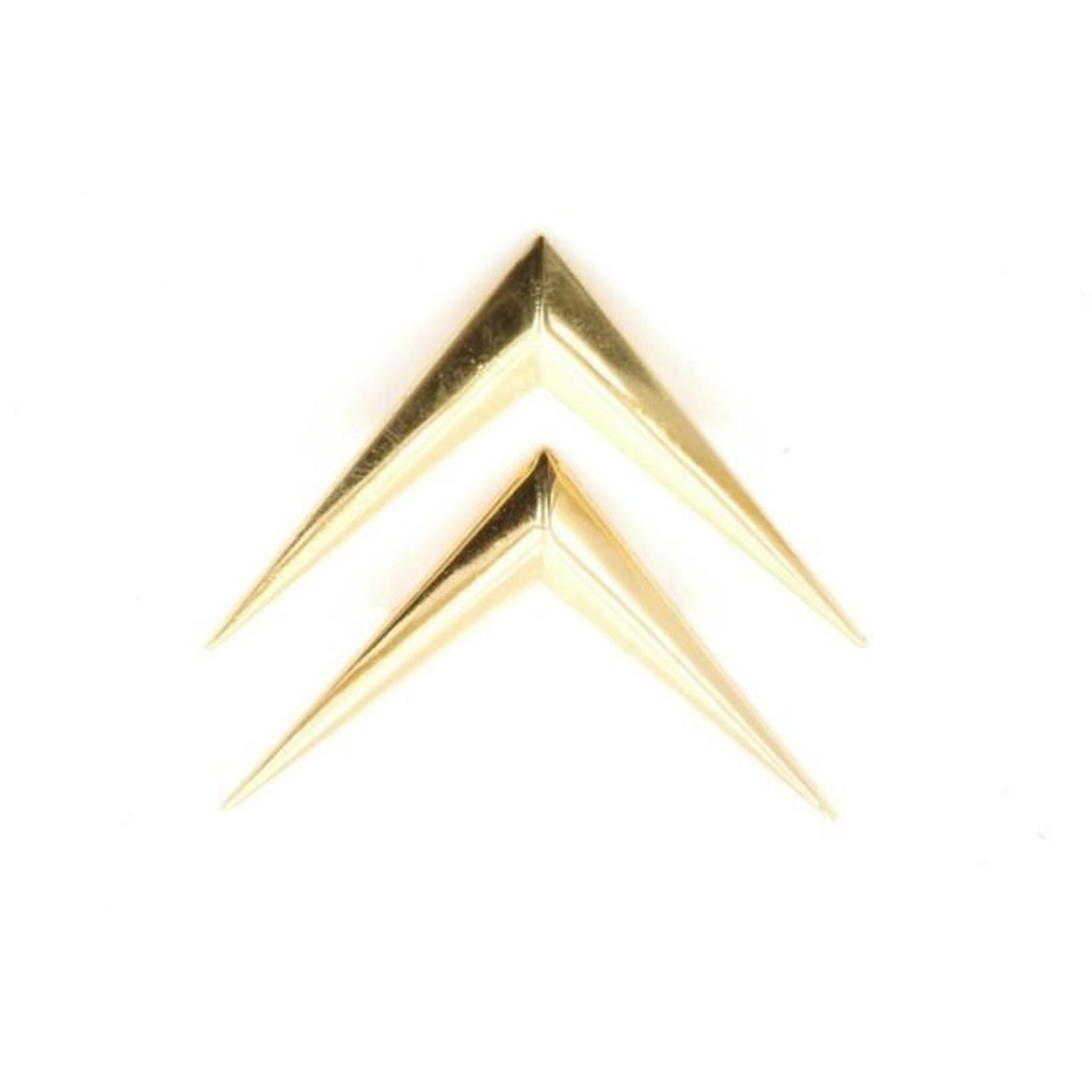 Chevrons goudkleurig Nr Org: D8544