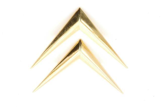 Chevrons gilded Nr Org: D8544