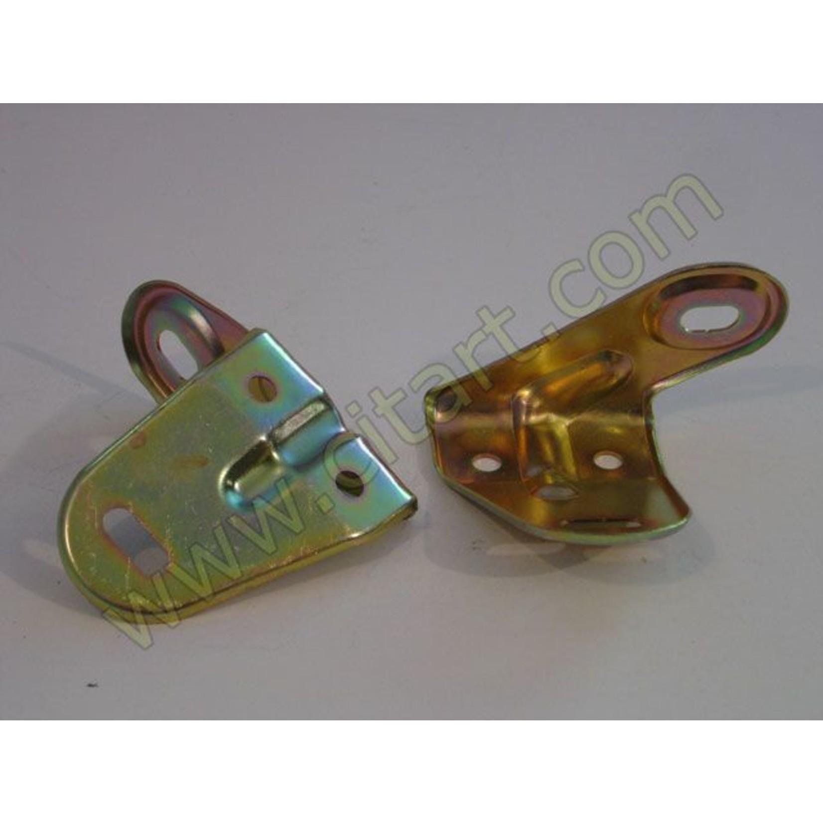 Linker hoek bumper - voorscherm RVS 68- Nr Org: DX61556