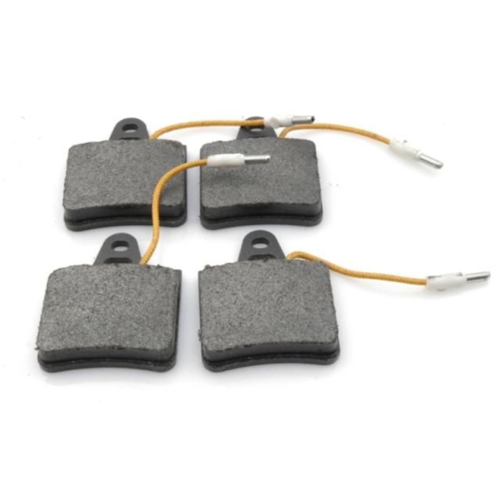 Plaquettes frein arrière avec indication d'usure SM 72- Nr Org: 5422680
