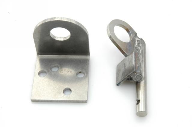 Pata sobre braze para tubo flexible frenos trasero Nr Org: 5411617+