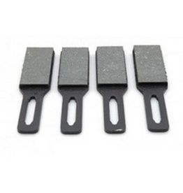Hand brake pads - 4 parts